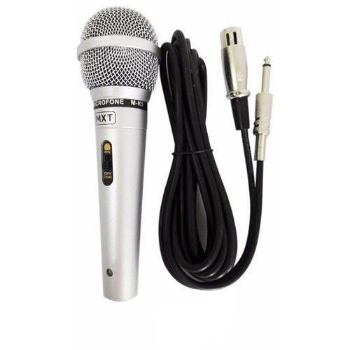 Microfone Dinamico M-K5 Metal Mxt