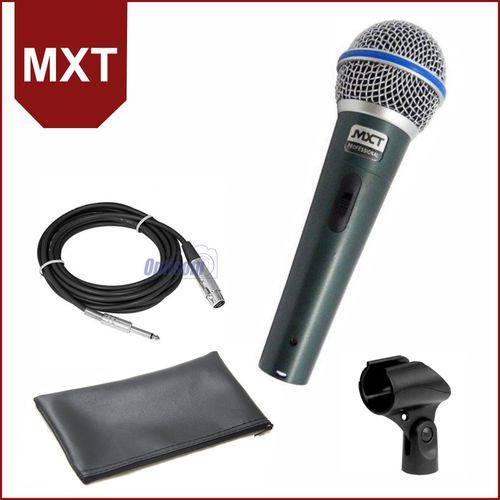 Microfone Dinâmico MXT PRO de Mão BTM-58A