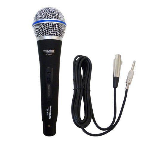 Microfone com Fio SC-815 Performance Sound