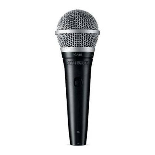 Microfone Dinâmico Shure Pga48-lc Sem Fio - Cardióide