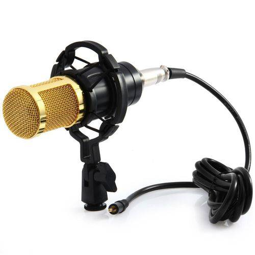 Microfone Estúdio Condesador Bm800 Profissional