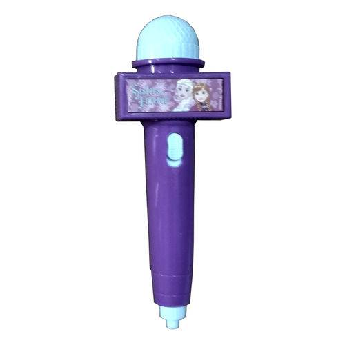 Microfone Frozen Toyng