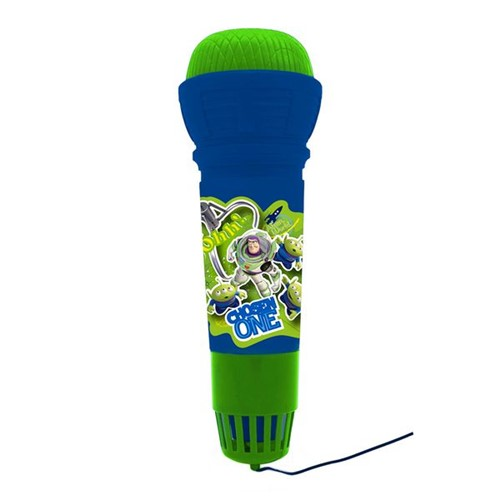 Microfone Infantil com Eco Toy Story Toyng