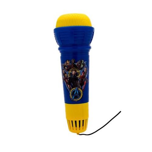 Microfone com Eco Vingadores - Toyng