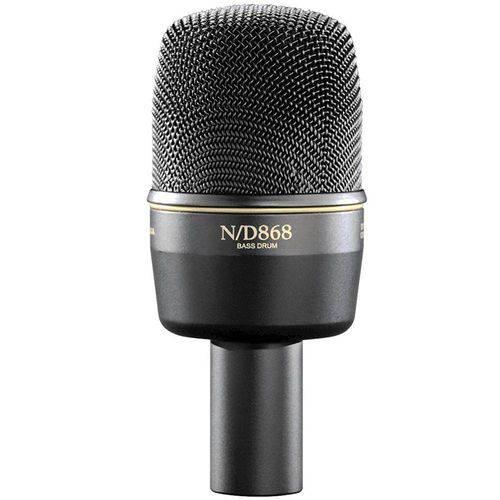 Microfone Instrumento Electro Voice Nd 868