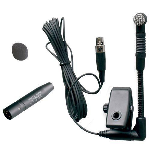 Microfone Instrumento Sopro Condensador Em715 Yoga