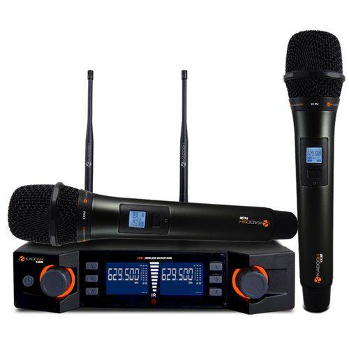 Microfone Kadosh Kdsw492m Mão Duplo