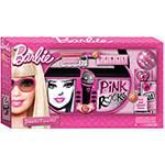 Microfone Karaokê Portátil Barbie Intek