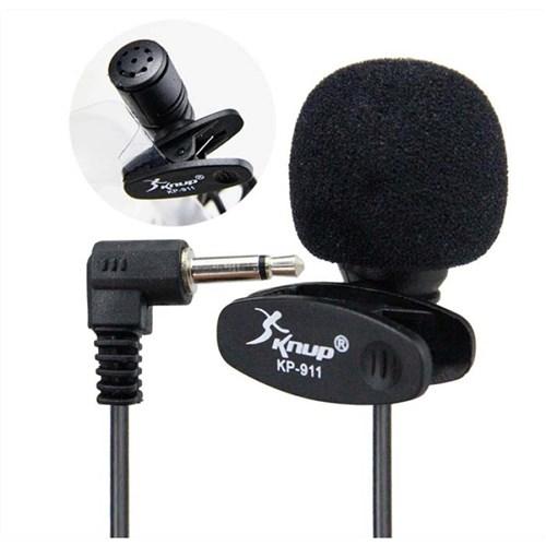 Microfone Lapela P2 Knup Kp-911