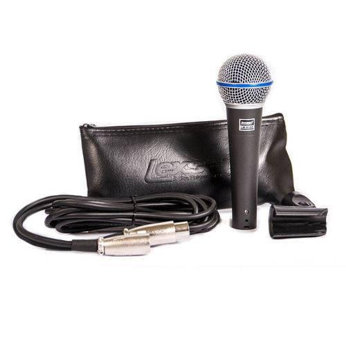 Microfone Lexsen Supercardióide LM-B58A - AC1560