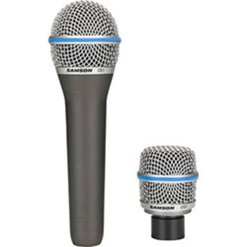 Microfone Mão Samson CS CS1/CS2