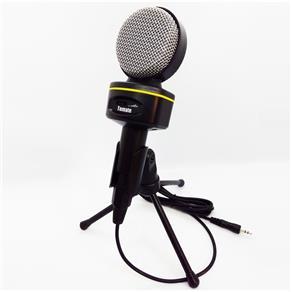 Microfone Multimídia Studio Gravação com Tripé e Cabo MT1021