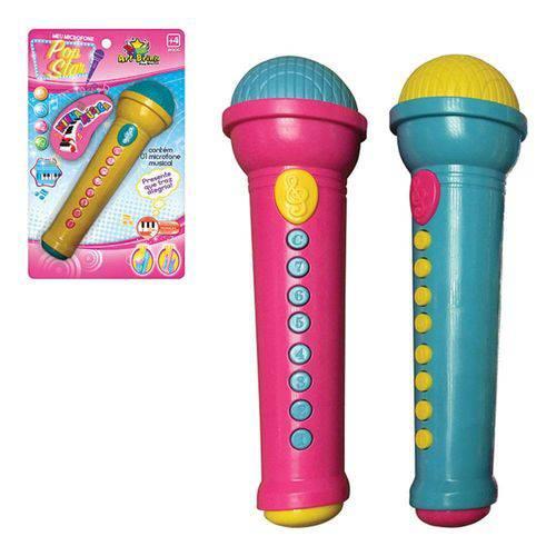 Microfone Musical Pop Star Art Brink