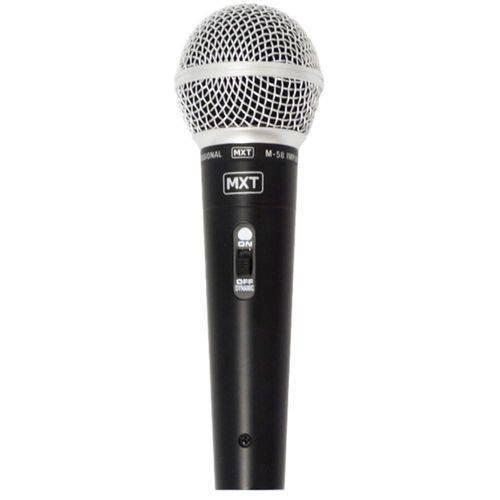 Microfone MXT Dinâmico M-58