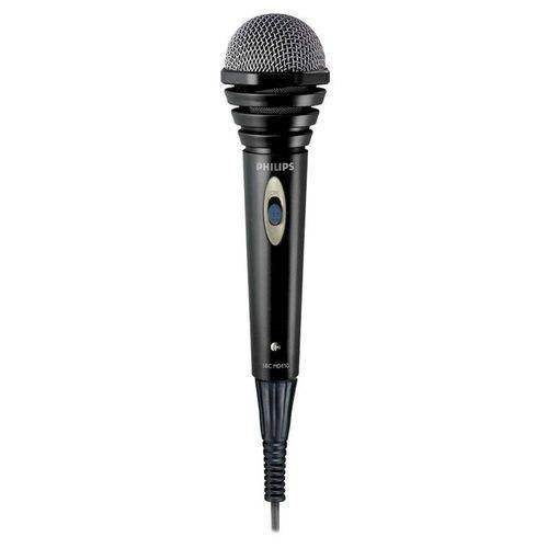 Microfone Philips SBCMD110/00 com Fio 1.5 Metros