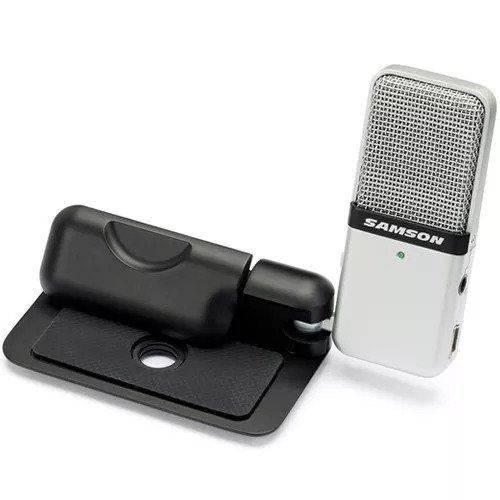 Microfone Portátil Condensador Compacto Usb Go Mic Samson