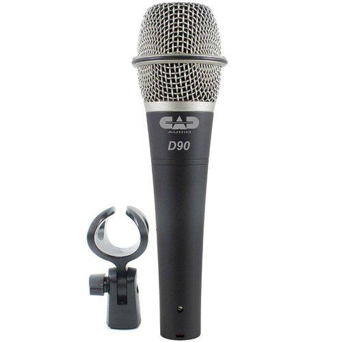 Microfone Premium Dinâmico Supercardióide D-90 - Cad Áudio