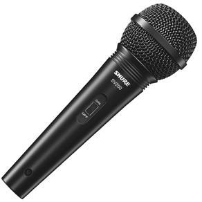 Microfone Vocal Cardióide com Fio SV200 Shure
