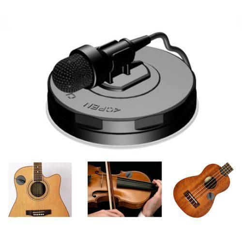 Microfone Profissional Zion By Plander com Ventosa para Ins