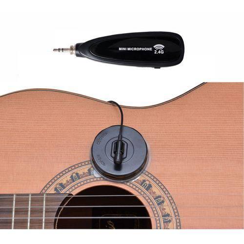 Microfone Profissional Zion By Plander Sem Fio para Instrum