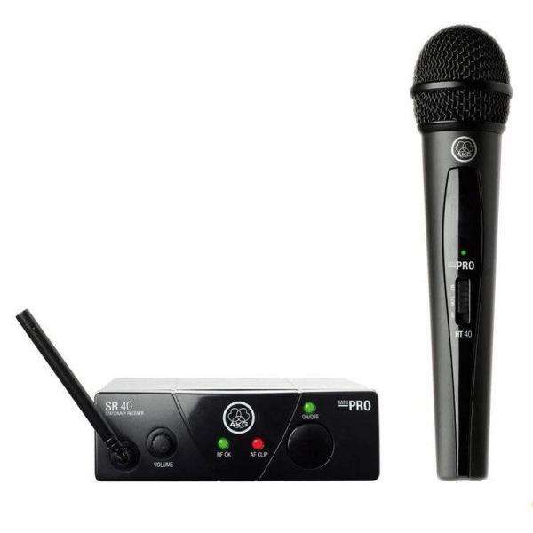 Microfone Sem Fio AKG WMS40 Mini Vocal