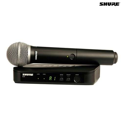 Microfone Sem Fio Bastão BLX24BR/SM58-J10 027498 Shure