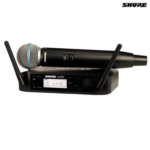 Microfone Sem Fio Bastão GLXD24BR/B87A 027565 Shure