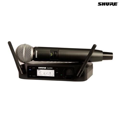 Microfone Sem Fio Bastão GLXD24BR/SM58 027566 Shure