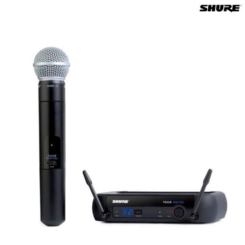 Microfone Sem Fio Bastão PGXD24/SM58 027676 Shure