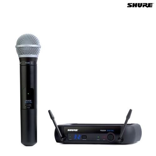 Microfone Sem Fio Bastão PGXD24BR/PG58 027675 Shure