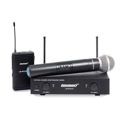 Microfone Sem Fio Bi-volt - Lm-wf258 Kit - Lexsen