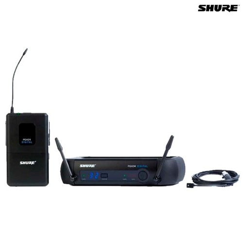 Microfone Sem Fio de Lapela PGXD14BR/93 027670 Shure