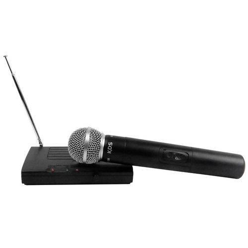 Microfone Sem Fio de Mão VHF Kadoshi KDSW-231M