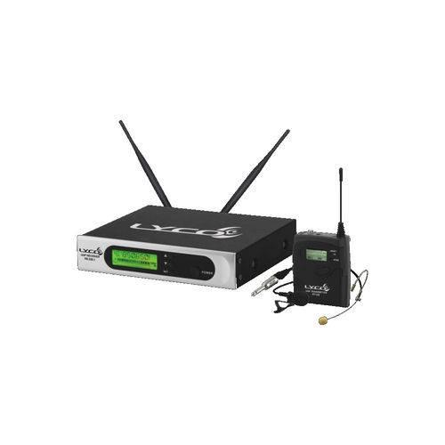Microfone Sem Fio Headset com Case UH228.1 1441Freq - Lyco
