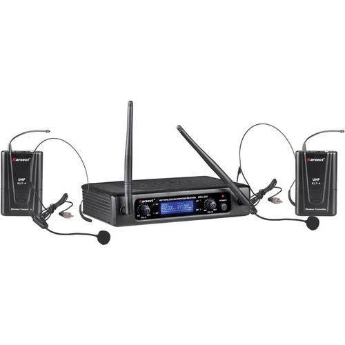 Microfone Sem Fio Headset Profissional Karsect Kru220H