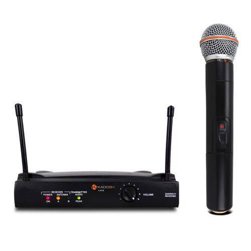 Microfone Sem Fio Kadosh Kdsw401m Mão