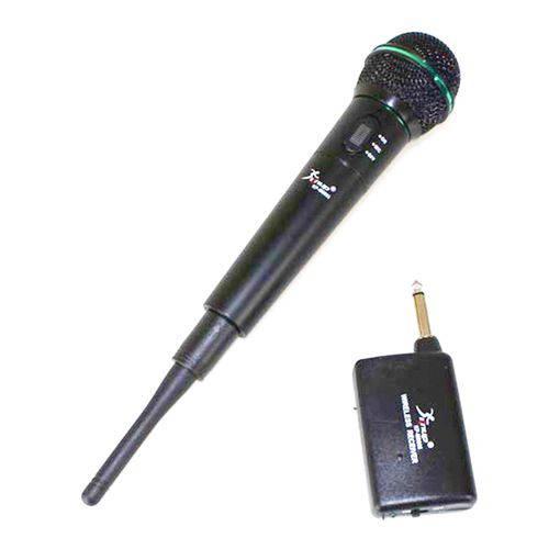 Microfone Sem Fio Knup Alcance 30 Metros