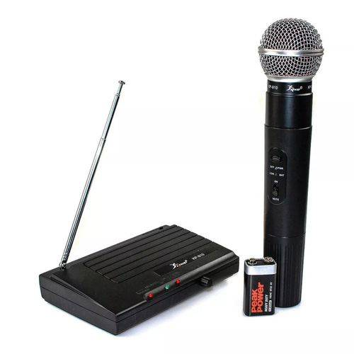 Microfone Sem Fio Kp-910 Profissional Knup