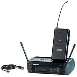 Microfone Sem Fio Lapela Shure UHF PGX14/WL93