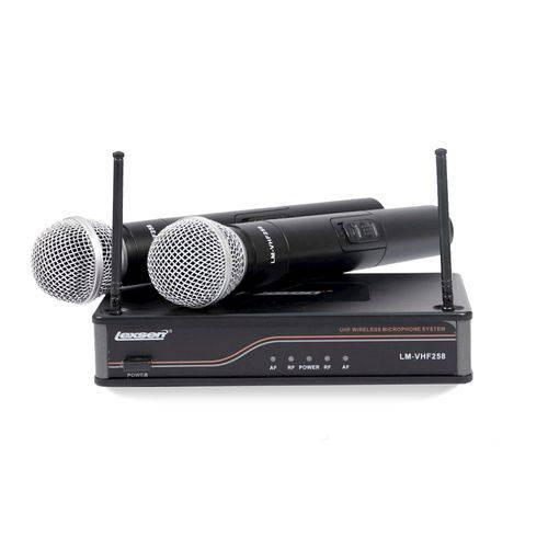 Microfone Sem Fio Lexsen LM VHF 258