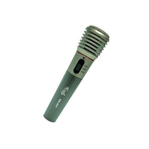 Microfone Sem Fio Premium Prata Loud Wm-2001
