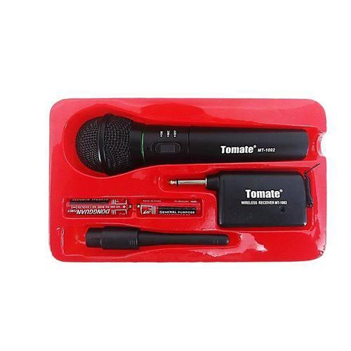 Microfone Sem Fio Profissional Tomate Mt-1002