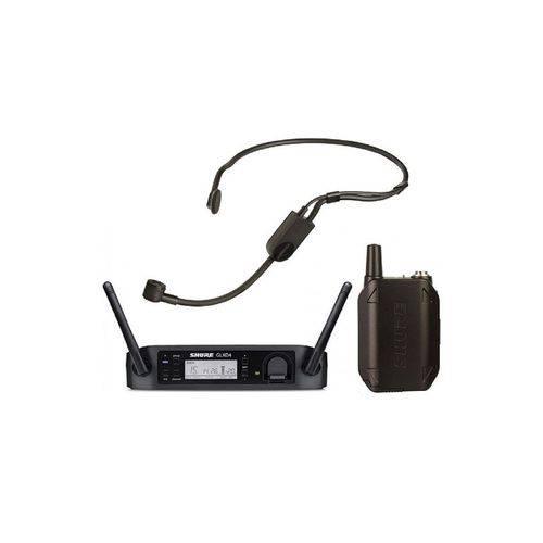 Microfone Sem Fio Shure Headset Glxd14br/ Pga31