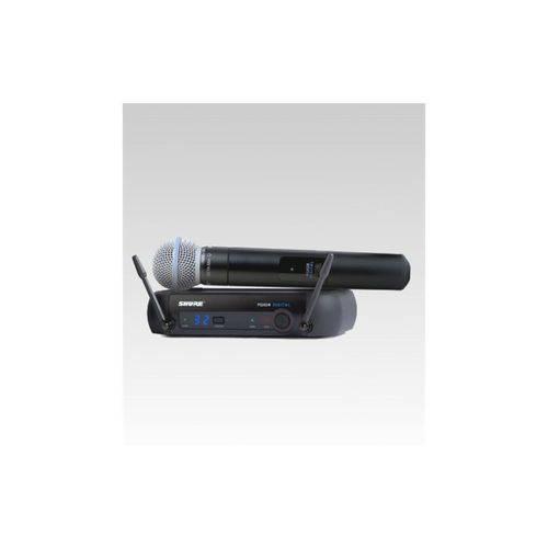 Microfone Sem Fio Shure Mao Pgxd24br/Beta 58 Digital