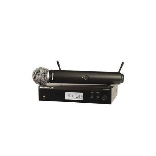 Microfone Sem Fio Shure Mao Rack Blx24rbr/Sm58