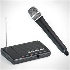 Microfone Sem Fio TSI MS115 UHF - de Mao