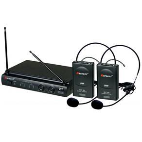 Microfone Sem Fio UHF Headset Karsect KRU 302