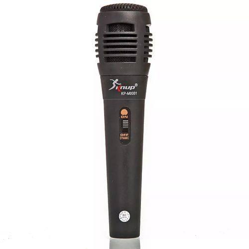 Microfone Semi Profissional com Fio P10 Karaokê Ótima Qualidade