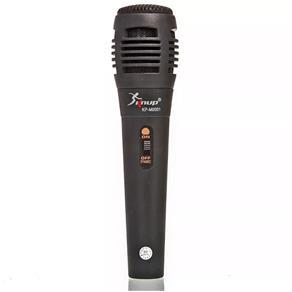 Microfone Semi Profissional Fio P10 Karaokê Ótima Qualidade