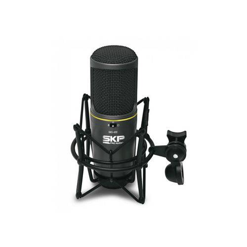 Microfone Skp Sks 420 Condensador Studio